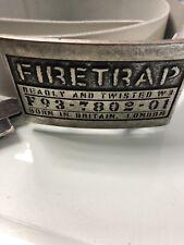 Firetrap White Belt.34