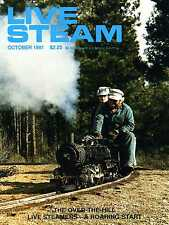 Live Steam V15 N10 October 1981 The Over-The-Hill Live Steamers