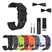 For Garmin Fenix/Fenix 2 Band Easy Fit 26mm Width Soft Silicone Watch Strap 26MM