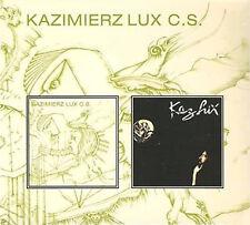 """Kaz Lux: """"Kazimierz Lux C.S."""" & """"Distance"""" (Digipak-CD)"""