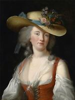 PRINT POSTER PAINTING PORTRAIT EXECUTED QUEEN FRANCE MARIE ANTOINETTE NOFL0083