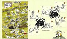 GB 2010 WINNIE THE POOH, POOH CORNER OFFICIAL FDC, JUST 10 OF THIS DESIGN