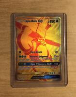 Tapu Bulu GX Gold SV91/SV94 Hidden Fates Secret Rare Full Art Pokemon card Mint
