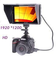 """VILTROX DC-70HD 1920*1200 7"""" LCD Monitor HDMI for Canon Nikon DSLR Camera Video"""