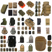 Tactical Military MOLLE Phone Pocket Pouch Waist Bag Holster For iPhone Outdoor