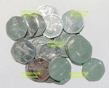 Botswana 5 thebe 2013 The Toucan hornbill bird 18mm Steel UNC Coins lot 20PCS