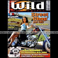 WILD MOTORCYCLES N°23 HARLEY STORY 1945-1952 FLH 1200 HYDRA GLIDE HD CORSICA