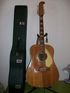 "Guitare Acoustique ""FENDER""  Shenandoah 12 cordes - 1968 (Usa)"