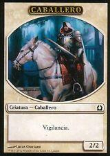 Caballero / Knight Token | NM | Promo | ESP | Magic MTG