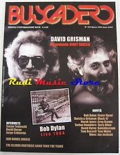 BUSCADERO 255 David Grisman Bob Dylan David Birne Tom Russell Vines  NO cd vhs *