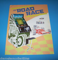 ROAD RACE By SEGA 1975 ORIGINAL VIDEO ARCADE GAME MACHINE SALES FLYER BROCHURE