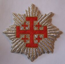 Medieval Crusades Knight Templar Sepulchre Church War Star Cross God Holy Land X
