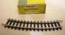Minitrix Curved Isolation Track Radius 1 24 Degree 14984