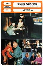 FICHE CINEMA : L'HOMME SANS PASSE - Kaurismaki 2002 The Man Without A Past