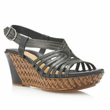 High (3 in. to 4.5 in.) Wedge Casual Strappy Heels for Women