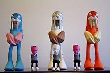 "SAM FLORES  The Loyal Subjects Designer Toy WYGER 8"" ORANGE"