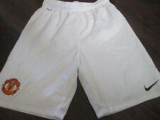 Manchester United 2009-2010 Home Football Shorts 13-15 Years  waist  /bi