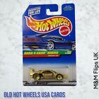 1998 Hot Wheels #722 Dash 4 Cash Series 2/4 FERRARI F40 Gold w/Gold Lace Spokes