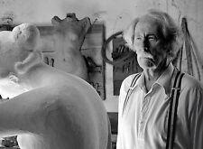 PHOTO JEAN ROCHEFORT- L'ARTISTE ET SON MODELE (P1) FORMAT 20X27 CM