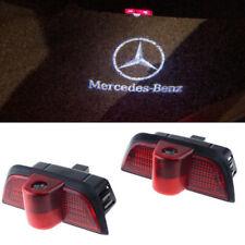 4 X Voiture DEL Porte Courtoisie Projecteur Flaque Lumière Pour Mercedes Benz AMG Vendeur Britannique