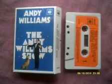 ANDY WILLIAMS SHOW 1970 CASSETTE in CARD SLEEVE