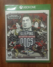 [SEALED, NEW] Sleeping Dogs Definitive Edition for Xbox One