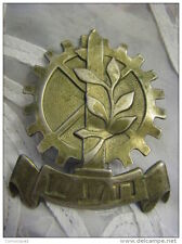 TA'AS Military Industry Haganah IDF Hat Badge Palestine Eretz-Israel 1940 RARE