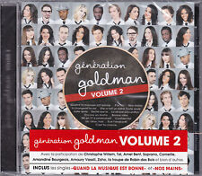 CD GENERATION GOLDMAN 2 15T BENT/SOPRANO/ANGGUN/WILLEM/MIRO/PAULINE/CORNEILLE NE