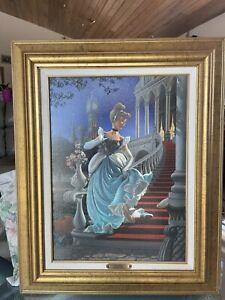 """Giuseppe Armani """"Cinderella"""" 1995 Lithograph - #11/300 with COA"""
