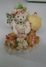 "Cherished Teddies ""MARLA"" Snowbear/tree For Christmas give your love NIB104068"