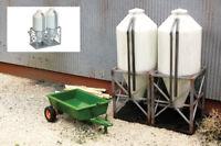 Fordhampton Farm Silos Kit - OO/HO plastic building kit Gaugemaster GM420