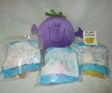 Mr Men and Little Miss - plush toy plus McDonalds Happy Meal toys