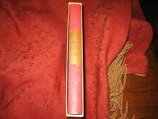 FATHER AND SONS IVAN TURGENEV HERITAGE PRESS HARDCOVER SLIPCASE W/INSERT