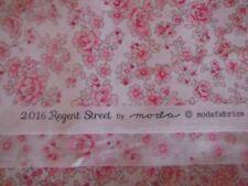 2016 Regent Street Lawns by Moda. Fat Quarter.  Pink Floral on Ivory