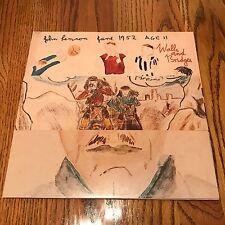 JOHN LENNON WALL AND BRIDGES ORIGINAL APPLE LP WITH INSERTS 1974