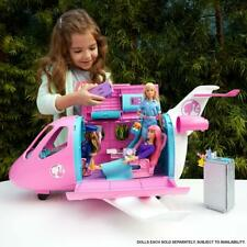 Barbie Airplane Play Set Plane Jet Toy Vehicle For Dolls Girls Toys Vacation Dog