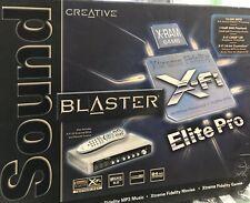 Creative Sound Blaster X-Fi PCI (70SB055A00000)Sound Card (E10) Read Description