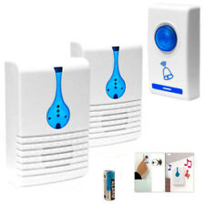 Wireless Door Bell Home Cordless Portable 32 Chime 100M Range Digital Doorbell