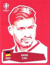 Panini Coca - Cola Sammelbild / Sticker Fußball EM 2016 - Emre Can