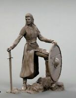 1/24 75mm Resin Figure Model Kit Sexy Lagertha Shieldmaide Unassambled Unpainted