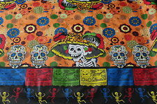 "Special listing for widena_wtoi6rgl  ""Day of the Dead"" Skeletons Mexican Orange"