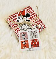 Disney Mickey and Minnie Mouse Ceramic Assorted Set Of 4 Coasters