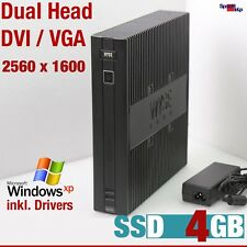 PC COMPUTER SSD 4gb per Windows XP Pro 512mb rs-232 Dual DVI VGA Head 2560x1600
