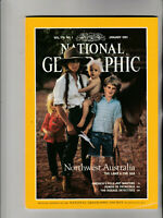 NATIONAL GEOGRAPHIC Magazine January 1991 - Northwest Australia