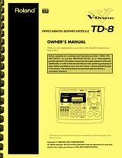 Roland TD-8 V-Drums Module Owner's Manual