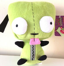 "GIANTNickelodeon Alien Invader Zim Soft Plush 14"" GIR Doll. USA SELLER. Licensed"