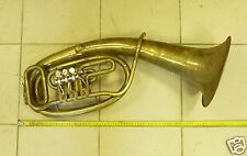 Vintage Soviet USSR brass tuba 1982 y . (Nr.668) .