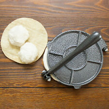 Cast iron 8 Inch Tortilla Press Roti Press Kit
