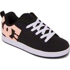 DC Court Graffik Womens Ladies Black Pink Skate Shoes Trainers Size 4-8
