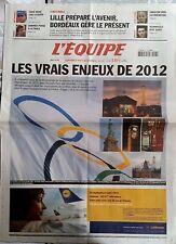 L'Equipe Journal 17/5/2005; Le vrai enjeux des JO 2012/ Sainz chez Citroën